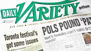 Голливудский журнал Daily Variety переходит в интернет