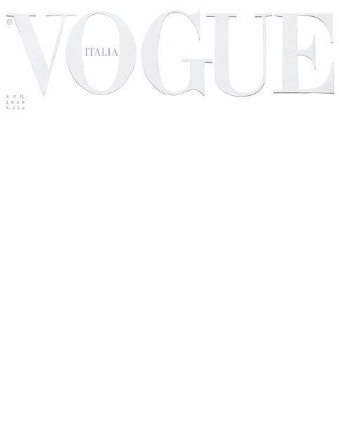 Vogue Italia випустив квітневий номер з порожньою обкладинкою