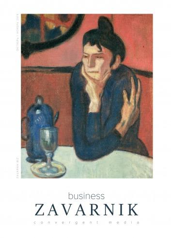 Діловий журнал «BUSINESS ZAVARNIK CONVERGENT MEDIA №11 11/2019