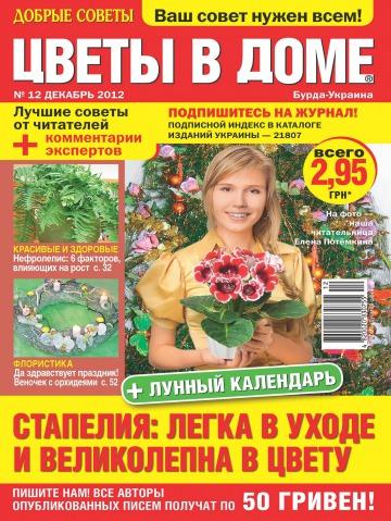 Добрые советы. Цветы в доме №12 12/2012