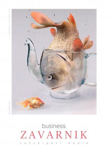 Діловий журнал «BUSINESS ZAVARNIK CONVERGENT MEDIA №10 10/2019