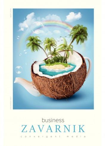 Діловий журнал «BUSINESS ZAVARNIK CONVERGENT MEDIA №5 05/2018