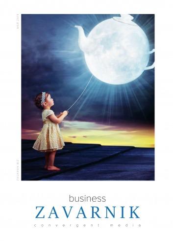 Діловий журнал «BUSINESS ZAVARNIK CONVERGENT MEDIA №5 05/2019